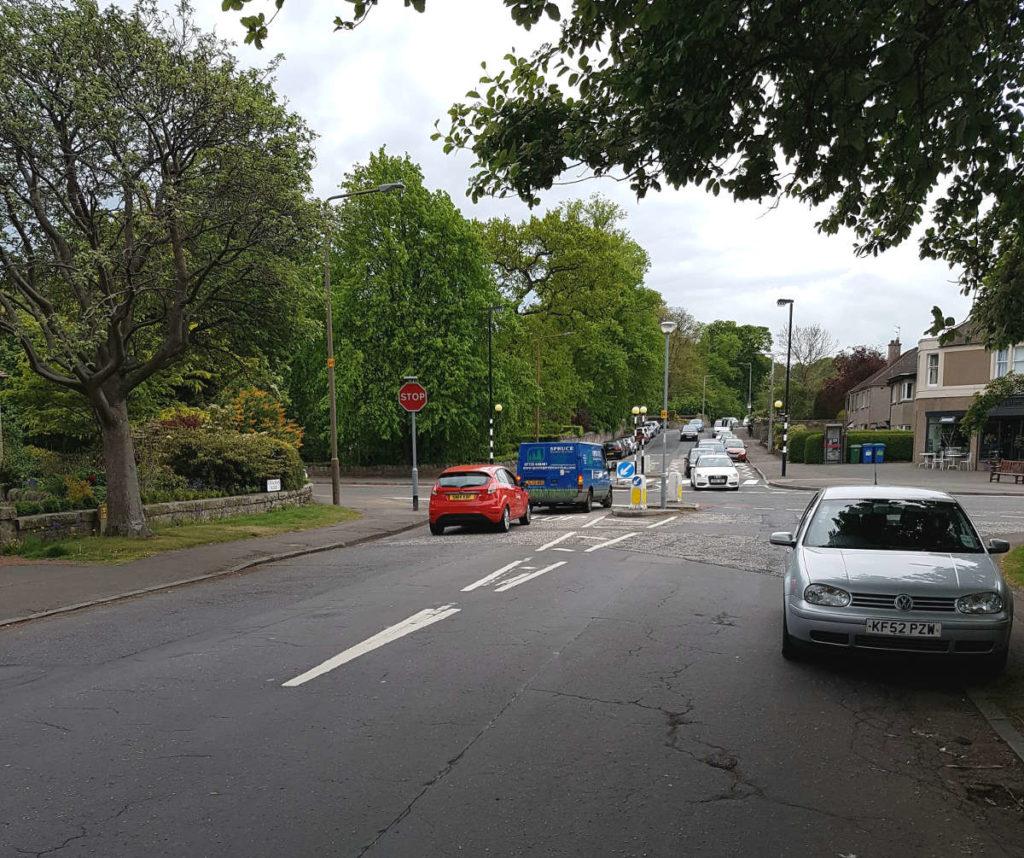 Junction in Blackhall
