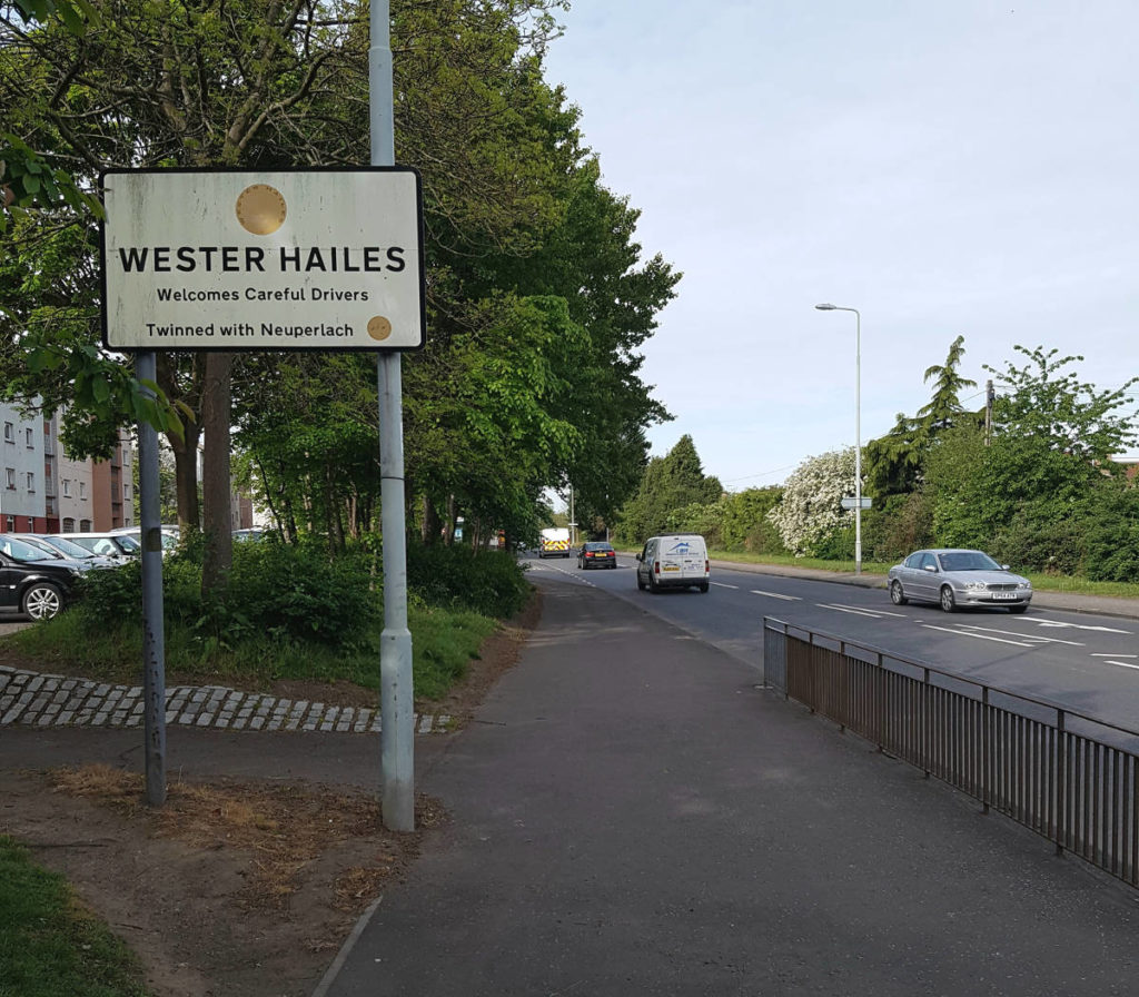 Welcome to Wester Hailes